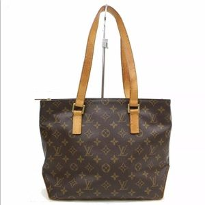 Authentic Louis Vuitton Cabas Piano Tote Bag Purse